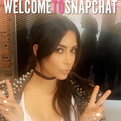 Kim Kardashian Visits Snapchat Headquarters and Gets Her Own Marilyn Monroe Filter