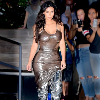 Kim Kardashian on Baring Her Nipples: 'I Don't GAF'