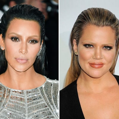 Khloe Kardashian Tries Out Her Sisters' Most Out-There Beauty Looks in Hilarious Post