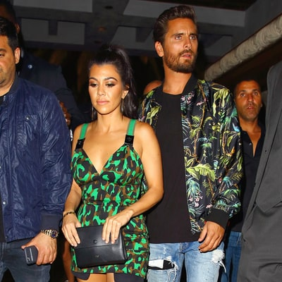 Kourtney and Khloe Kardashian Celebrate Scott Disick's Birthday in Las Vegas