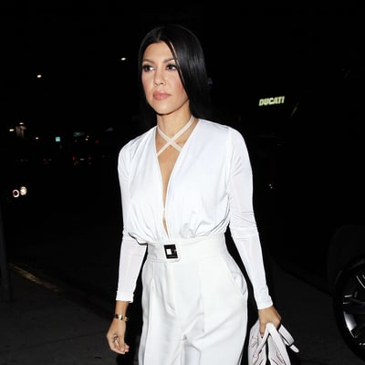 Kourtney Kardashian Wears Same Plunging Bodysuit as Selena Gomez: Who Wore It Best?