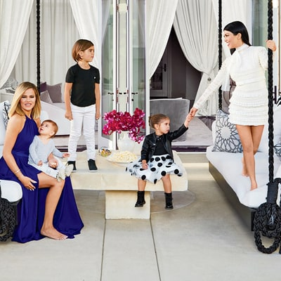Peek Inside Khloe and Kourtney Kardashian's Stunning Homes: Photos