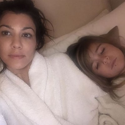 Kourtney Kardashian Under Fire for Posting a Photo of Her 4-Year-Old Daughter Penelope Wearing a Lip Ring
