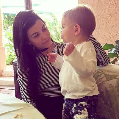 Kourtney Kardashian Takes Baby Reign Disick on a Lunch Date: See the Adorable Picture