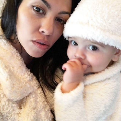 Kourtney Kardashian Shares Adorable First Thanksgiving Snap With Reign