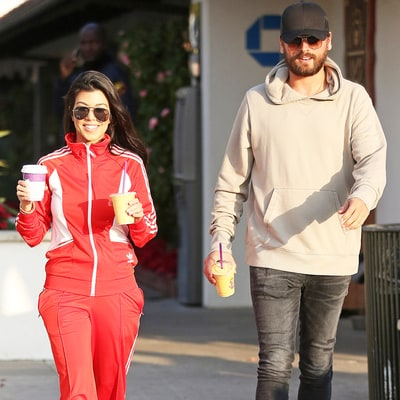 Kourtney Kardashian and Scott Disick Look Happier Than Ever During Malibu Stroll: Pic