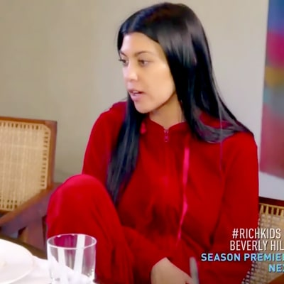 Kourtney Kardashian Resents Tyga for Partying With Scott on 'KUWTK'