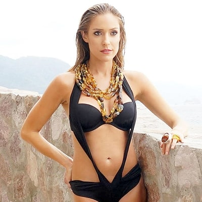 Kristin Cavallari Works Her Post-Baby Body in a Bikini