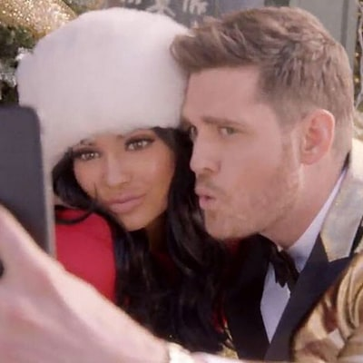 Kylie Jenner Gets Festive With Michael Buble, Gigi Hadid Joins In: Picture