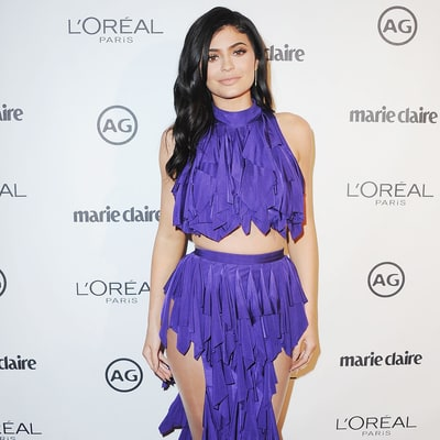 Kylie Jenner Wears a Wild Ruffled Gown, Just Like Kourtney Kardashian's: Who Wore It Best?