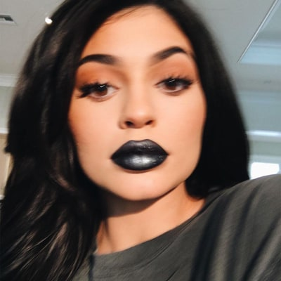 Kylie Jenner Reveals Her Edgy New Lip Kit Shade, Majesty: See a Swatch!