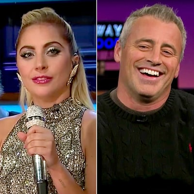 Lady Gaga Asks Matt LeBlanc 'Monica or Rachel?' During 'Who'd You Rather' Game