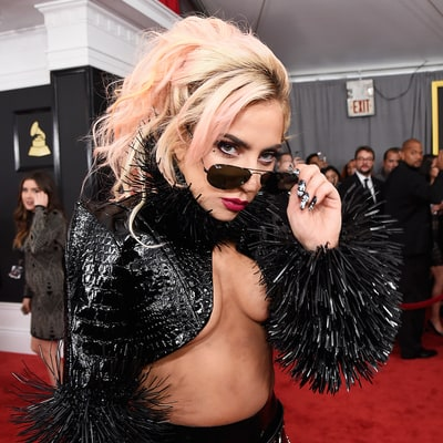 Did Lady Gaga Get a Massive Metallica Moth Back Tattoo Before Grammys 2017?