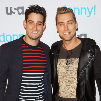 Lance Bass Celebrates One-Year Wedding Anniversary With Romantic Post