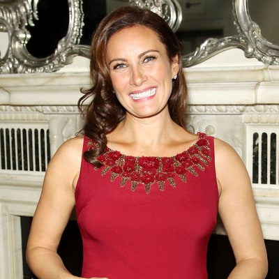 Pregnant Laura Benanti Debuts Her Baby Bump in Fitted Red Dress