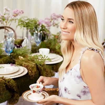 Lauren Conrad Teaches Us How to Make a Custom Tea Bag Party Favor