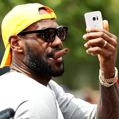 LeBron James' Instagram Account Is Rap's Hottest Listening Party