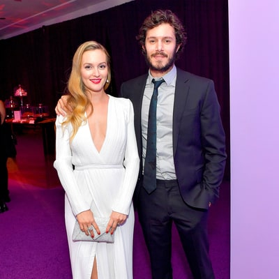 Leighton Meester and Adam Brody Make Rare Public Appearance at 2017 Golden Globes Afterparty