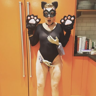 Lena Dunham Dresses as a 'Grabbed P—sy' For Donald Trump Inspired Halloween Costume