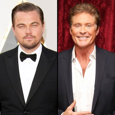 Leonardo DiCaprio Almost Played David Hasselhoff's Son on 'Baywatch'