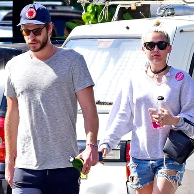 Miley Cyrus, Liam Hemsworth Hang With His Sister-In-Law Elsa Pataky: See the Photos