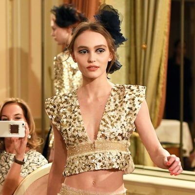 Lily-Rose Depp Makes Her Runway Debut at Chanel