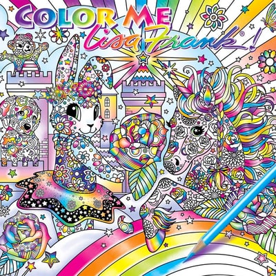 Lisa Frank Is Releasing an Adult Coloring Book, and All Is Right In the World