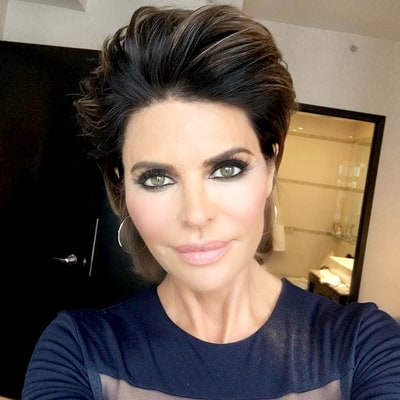 Lisa Rinna Changes Her Hairstyle for First Time in 20 Years — See Her Sexy, Darker 'Do