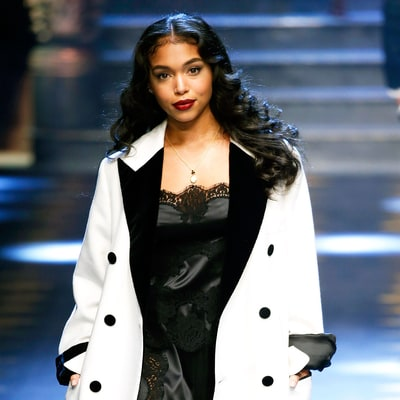 Steve Harvey's Gorgeous Stepdaughter, Lori Harvey, Makes Runway Debut During Milan Men's Fashion Week 2017