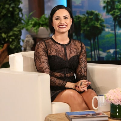 Demi Lovato Says Kim Kardashian Helped Her Love Her Curves, Paved Way to 'Vanity Fair' Shoot