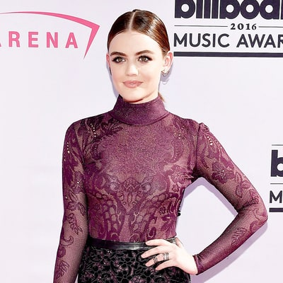 Lucy Hale Brings the Drama With a Violet Smoky Eye at the 2016 'Billboard' Music Awards