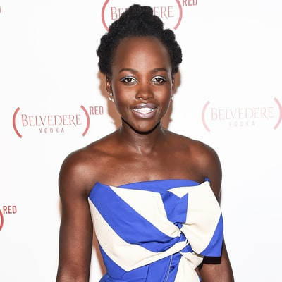 How to Get Lupita Nyong'o's White Eyeliner and Pale Pink Matte Lip