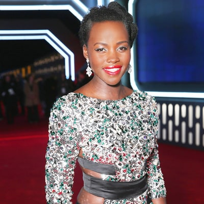 How to Wear Silver Makeup Like Lupita Nyong'o at the 'Star Wars' Premiere