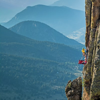 Vertical Camping In The Rockies
