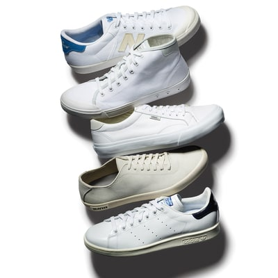 White Sneakers: Not Just for Tennis Anymore