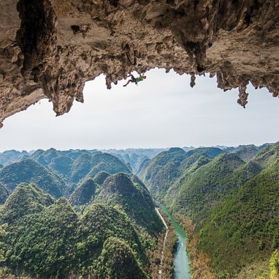 A Crazy Climb in China's Remote Getu Valley