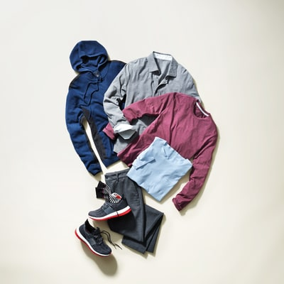 Clothes for a Slob-Free Weekend