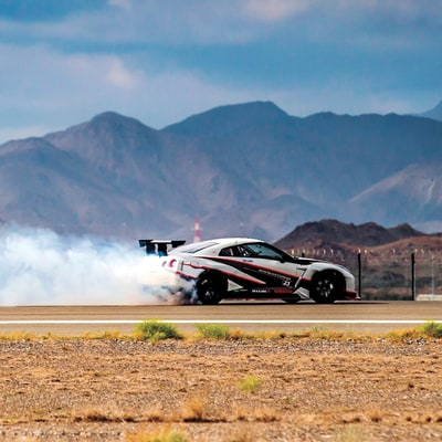 Drifting at 189.5 Miles Per Hour