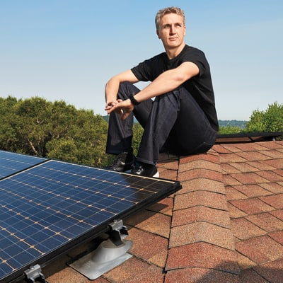 Elon Musk, Lyndon Rive, and the Plan to Put Solar Panels on Every Roof in America