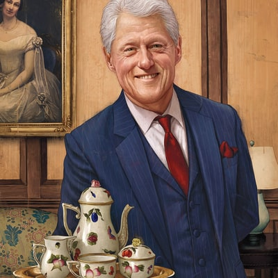 Is Bill Clinton Our New Model Husband?