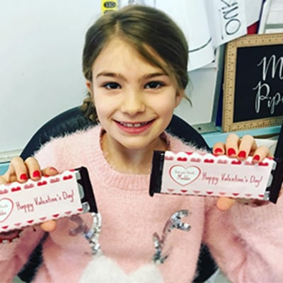 Jamie Lynn Spears' Daughter Maddie Returns to School for Valentine's Day After Being Hospitalized — See the Sweet Pic