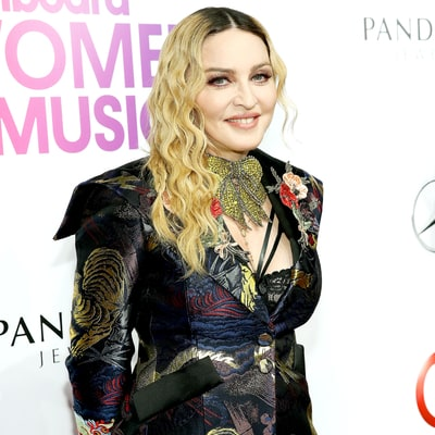 Madonna Shares Photo of New Twin Daughters Esther and Stella in Matching Tracksuits