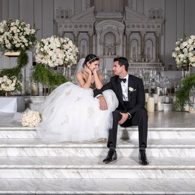 Inside Italia Ricci and Robbie Amell's Traditional Italian Wedding