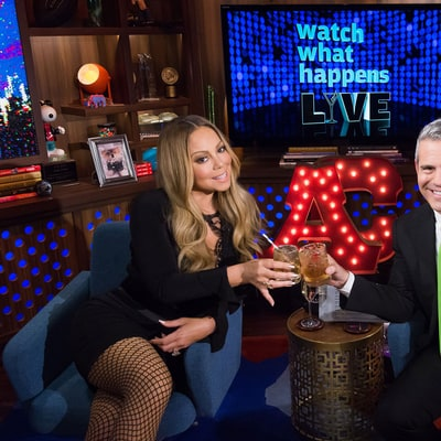 Mariah Carey Throws Shade at J.Lo, Nicki Minaj on 'WWHL,' Has No Problem With Beyonce or Britney Spears!