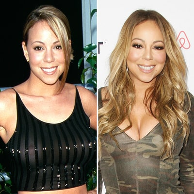 The Evolution of Mariah Carey — See How Her Face Has Changed Over 26 Years in This 30-Second Video