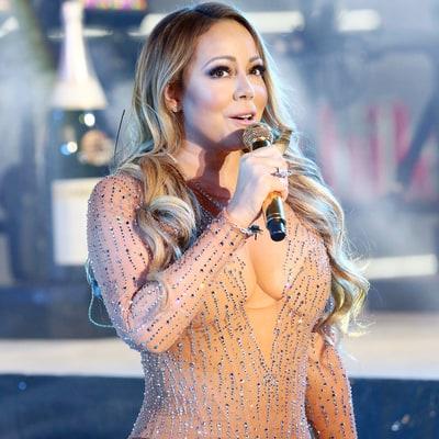 ... Mariah Carey After NYE Performance Drama Jenny McCarthy Slams Mariah  Mariah Carey