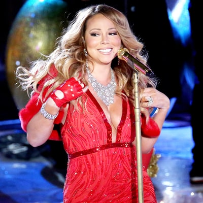 Mariah Carey Had Technical Problems at the 2014 Rockefeller Center Christmas Tree Lighting Too