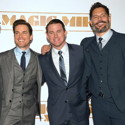 Joe Manganiello Bowls, Smokes Cigars With Channing Tatum, Matt Bomer for His Bachelor Party