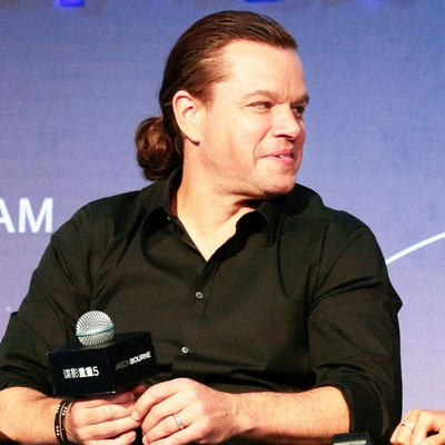 Matt Damon's Man Bun Is Back Just Two Weeks After Rocking a Cropped Cut