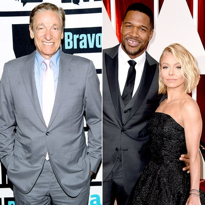 Maury Povich Rips Kelly Ripa, Michael Strahan for Acting Like 'Divas'